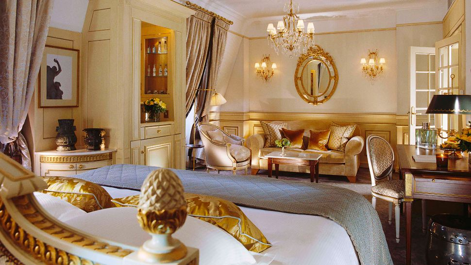 Le meurice le de france france for Hotel luxe france