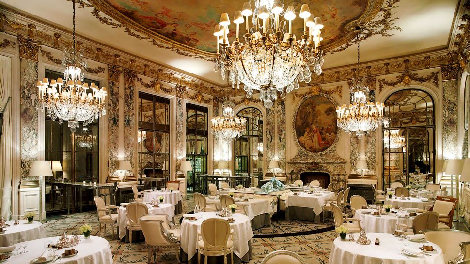 Le meurice le de france france for Top design hotels in paris