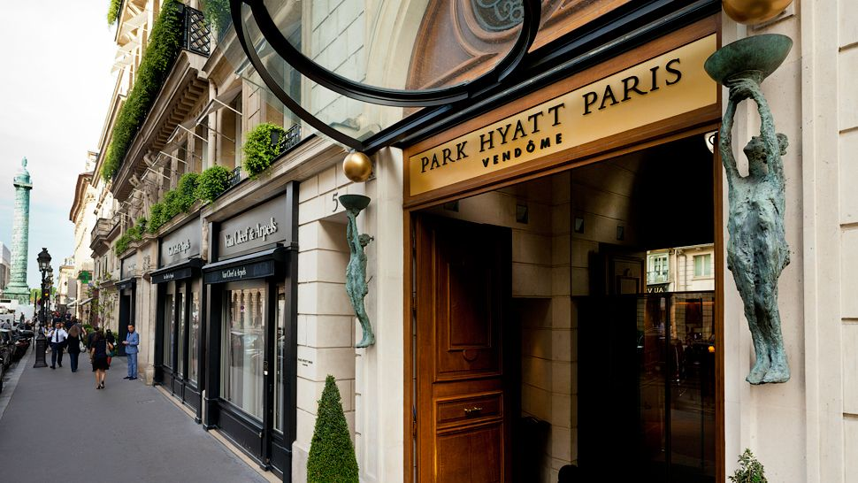 Park hyatt paris vend me le de france france for Hotel design 2h de paris