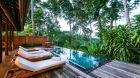 COMO Villa pool deck COMO Uma Ubud