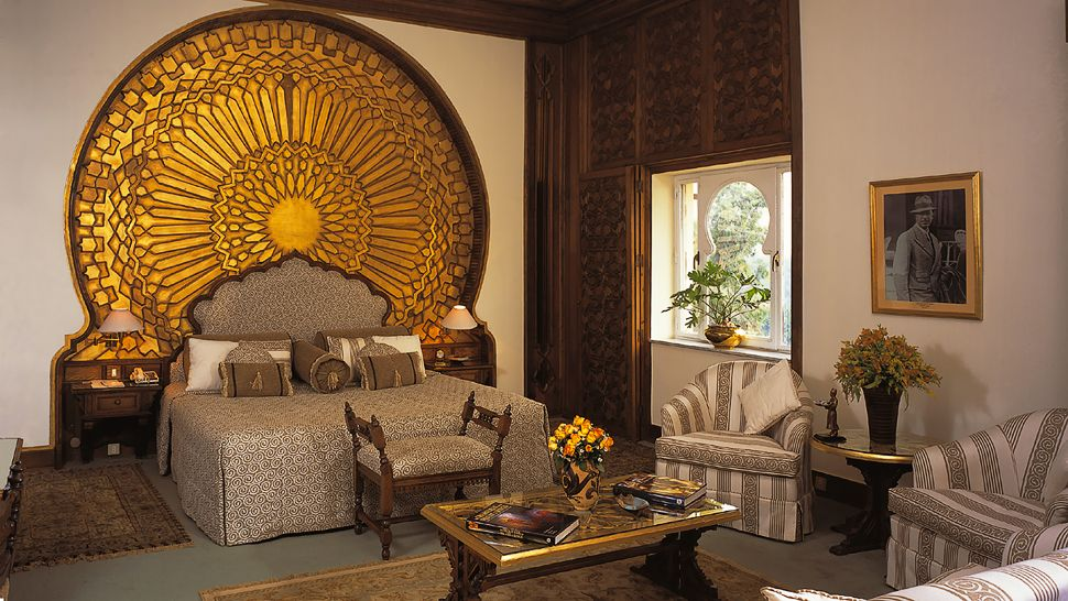 Mena house hotel greater cairo area egypt for Ancient egypt decoration