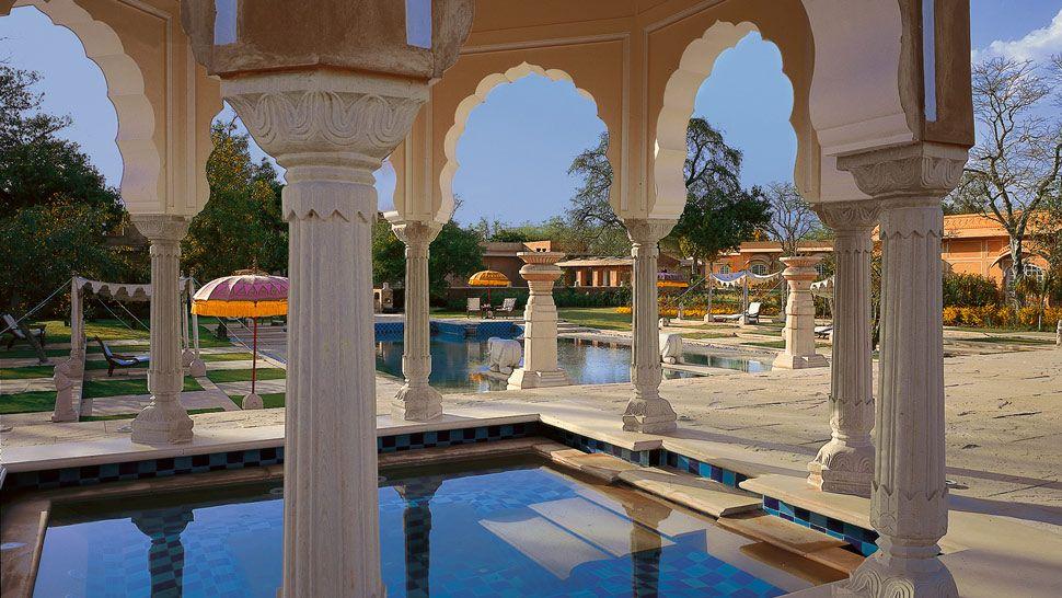 The Oberoi Rajvilas Jaipur Rajasthan India