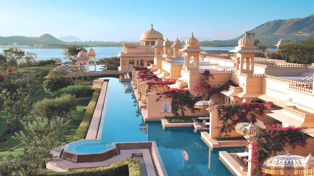 Best Hotel Pool: The Oberoi Udaivilas, Udaipur