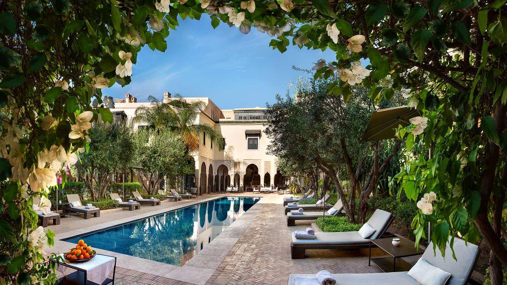 La villa des orangers marrakech marrakech tensift el haouz for La villa des orangers