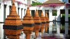 Chedi Pond The Sukhothai Bangkok