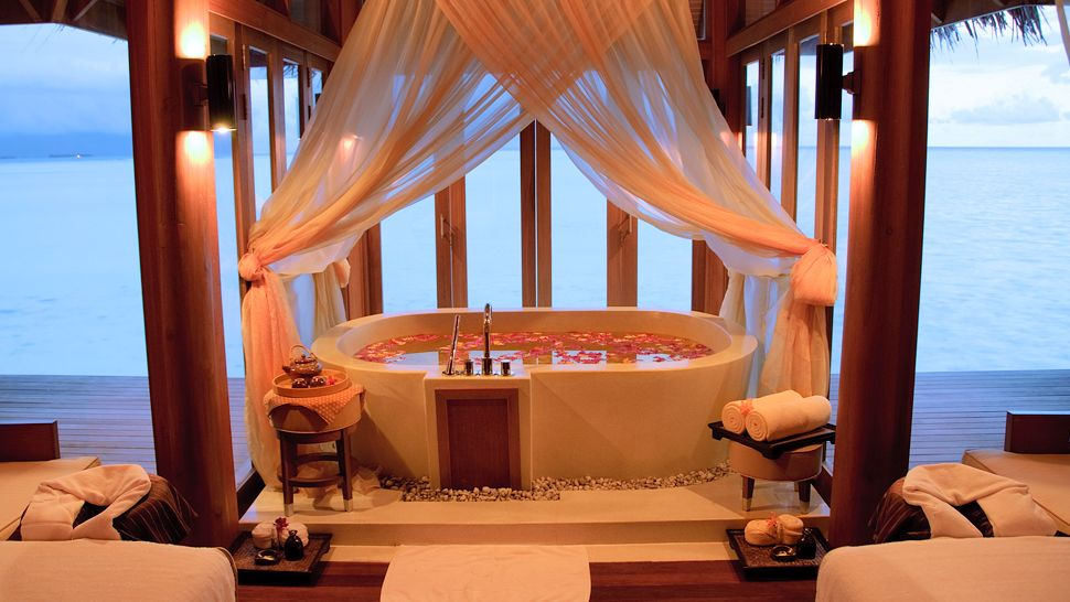 Anantara dhigu resort spa maldives south male atoll for Best spa for couples
