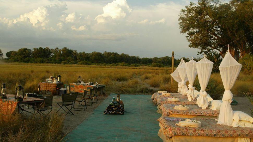 Jao Camp — Moremi Wildlife Reserve, Botswana