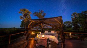 Sleeping under the stars at Abu Camp