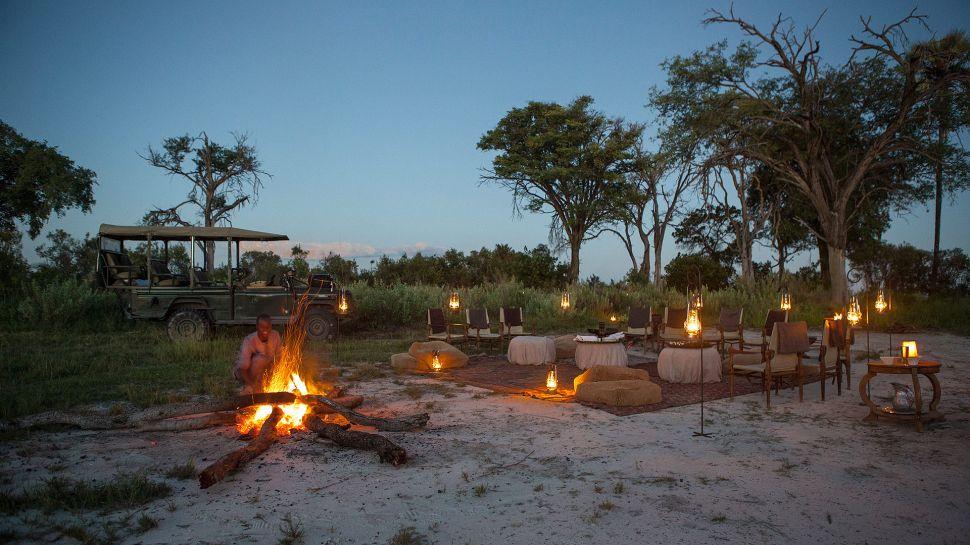 Abu Camp — Moremi Wildlife Reserve, Botswana