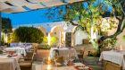 Outdoor dining  Elounda  Beach  Hotel 2019.