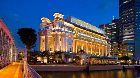 The Fullerton Hotel Singapore - Singapore, Singapore