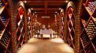 wine cellar dining
