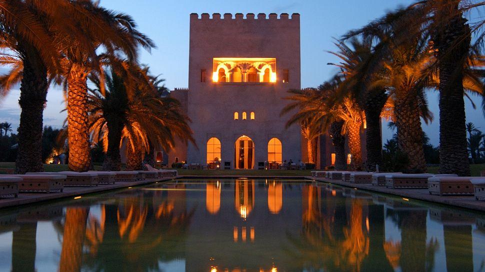 Ksar Char-Bagh - Marrakech, Morocco