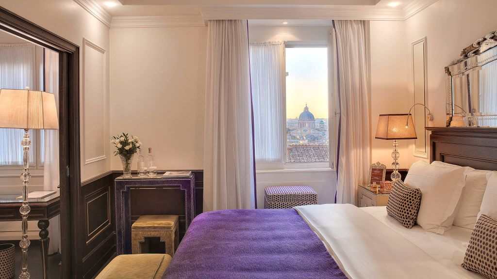Hotel hassler roma roma l zio for Visa hotel luxury collection