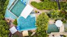 Pool  Area  Gaia  Hotel.