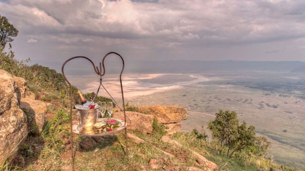 Ngorongoro Crater Lodge — Ngorongoro Crater, Tanzania
