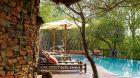 pool terrace at Sanctuary Makanyane