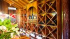 Ladera Resort wine wall