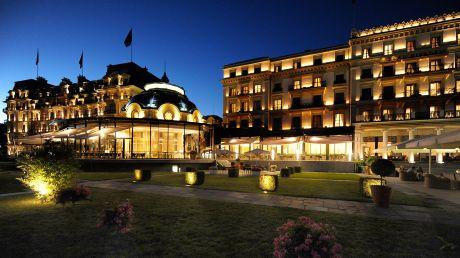 Beau-Rivage Palace - Lausanne, Switzerland