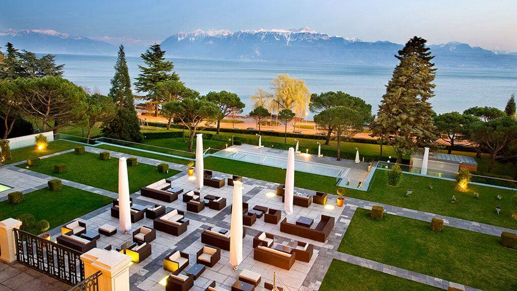 Beau-Rivage Palace, Lake Geneva, Vaud