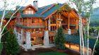 cabin exterior summer daytime