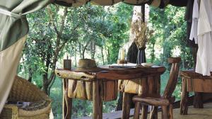 deck overlooking jungle