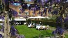 Moat Terrace through the Wisteria