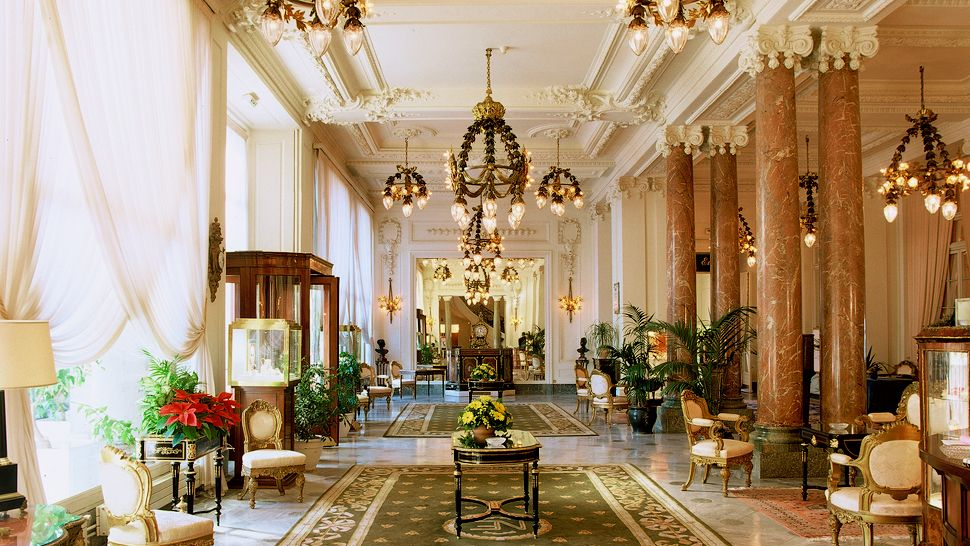 Hotel du Palais — Biarritz, France