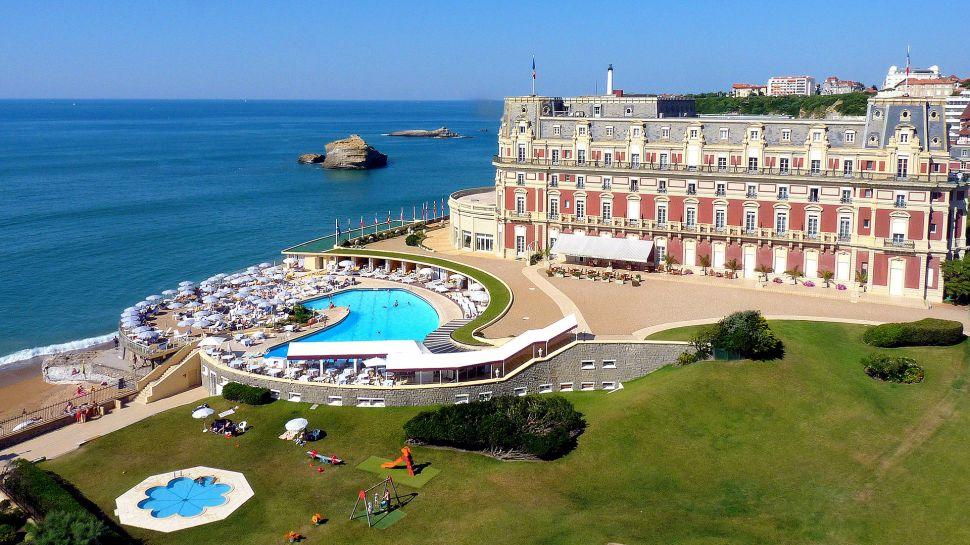Hotel du Palais - Biarritz, France