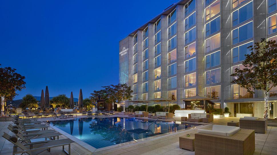 Hotel president wilson genf schweiz for Visa hotel luxury collection