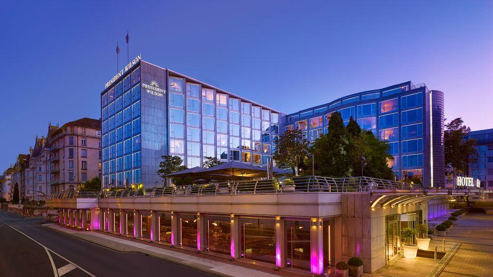 Hotel president wilson ginevra svizzera for Design hotel 16 geneva
