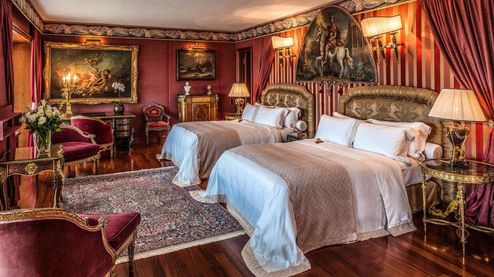 Rome Cavalieri Hotel Rooms