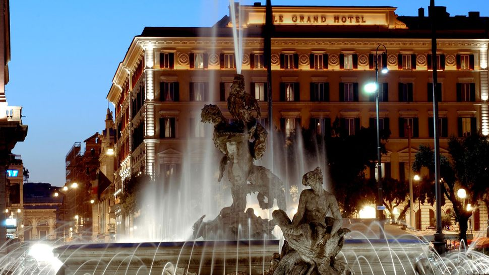 The st regis rome lazio italy for Grand hotel rome