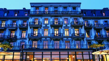 Hotel Trois Couronnes - Vevey, Switzerland
