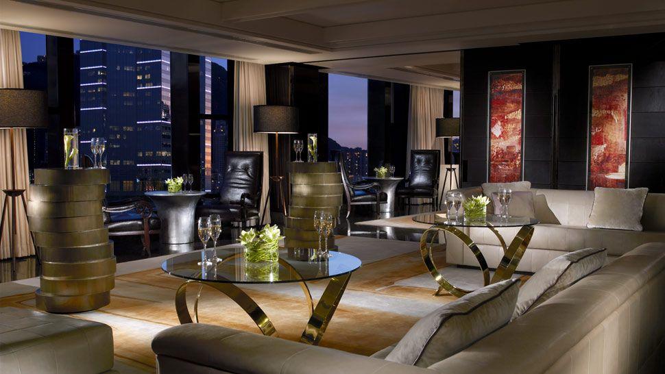 Four seasons hotel hong kong hong kong s a r china for Sitting room suites