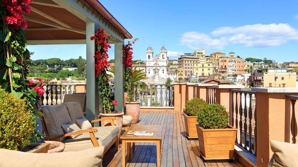 Portrait roma roma lacio for Visa hotel luxury collection