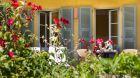 Deluxe room Garden view terrace Villa Orangerie