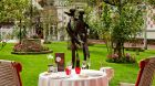 garden outdoor dining