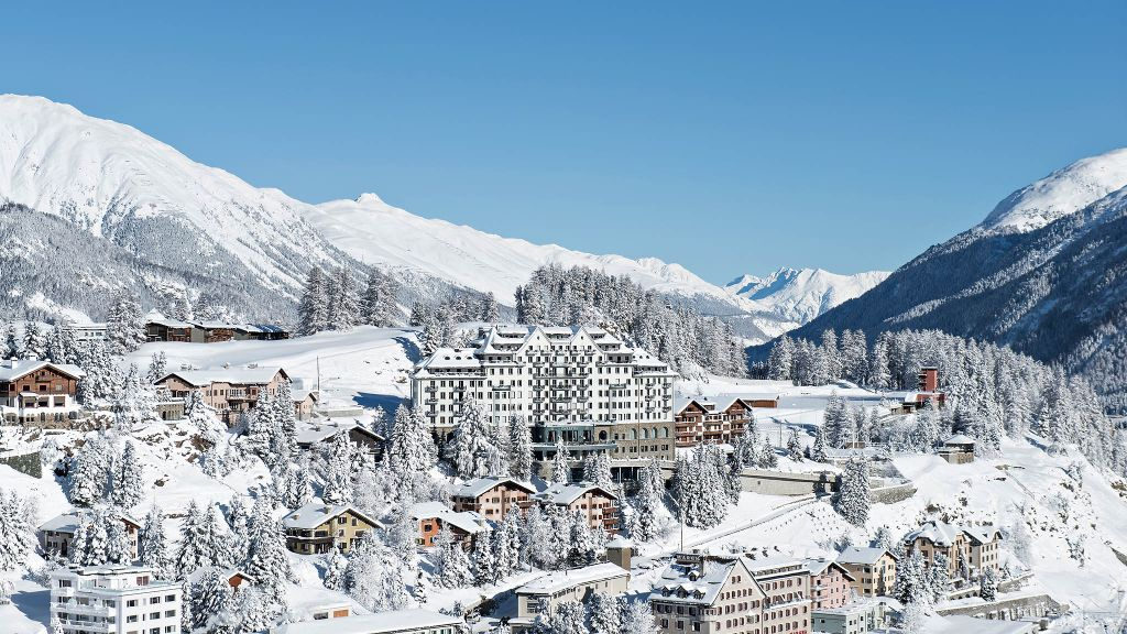Switzerland, Winter vacations & holiday travel luxury hotels
