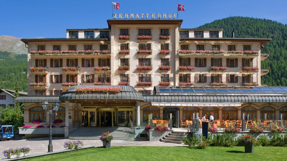 Grand Hotel Zermatterhof - Zermatt, Switzerland
