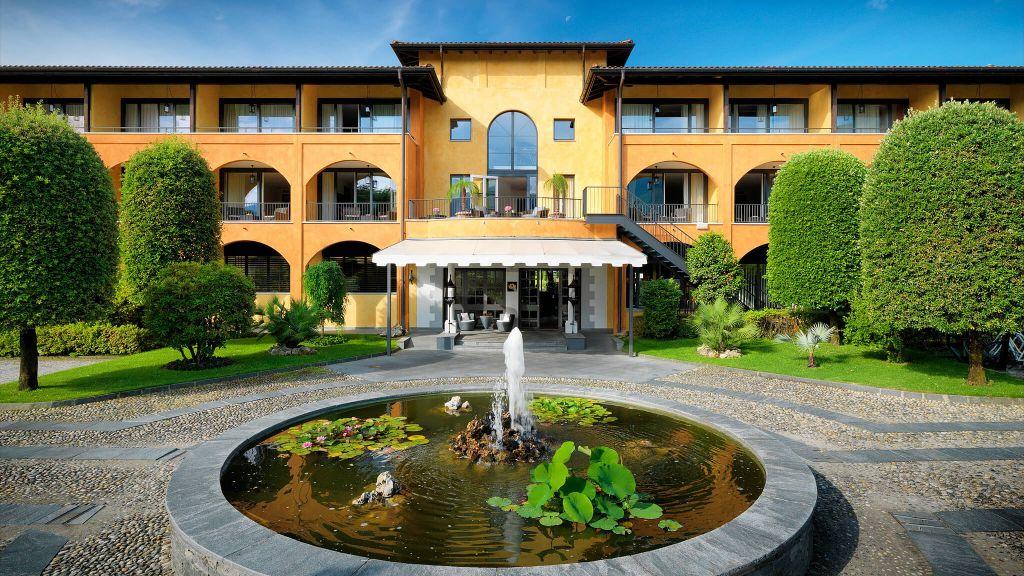 Giardino ascona lake maggiore ticino for Design hotel tessin