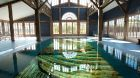 Indoor Pool Marble bottom