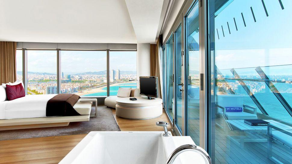 W barcelona catalonia spain for W hotel barcelona spa