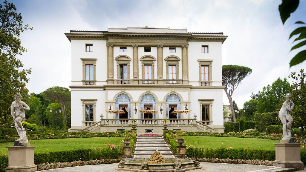 Villa Cora, Florence, Tuscany