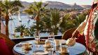 terrace tea Nile view