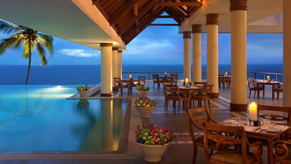 The leela kovalam kerala india for Best boutique hotels kerala
