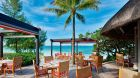 Outdoor dining beach