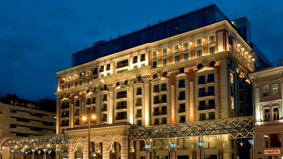 beautiful ritz lighting style. hotel exterior night beautiful ritz lighting style