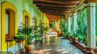 See more information about Hacienda Los Laureles lobby sitting area