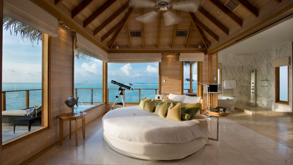 Conrad maldives rangali island south ari atoll maldives for Hotel conrad maldivas islas rangali